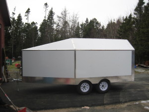 Custom Trailer at Crown Welding & Fabrication Inc