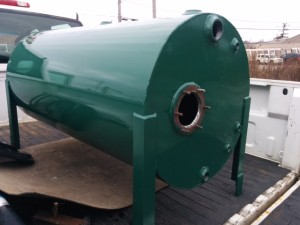 Custom Fabricated Dump Tank